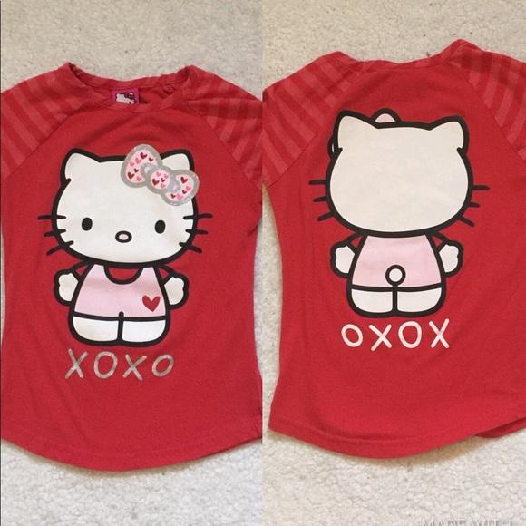da50c2b4 Hello Kitty Shirts & Tops   Shirt Girls Size Small 66x   Poshmark